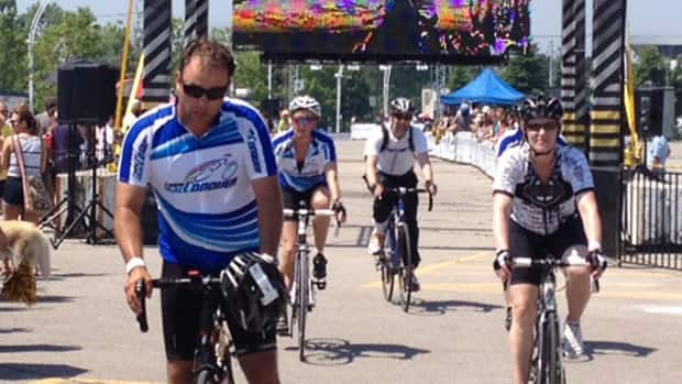 The Enbridge Ride to Conquer Cancer raised more than $18 million this year, according to organizers. Participants each rode courses of at least 200 kilometres during the two-day event.