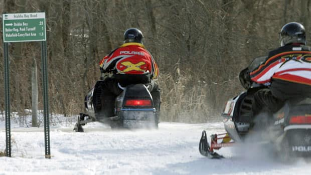 Snowmobiler maker Polaris Industries Inc. is suing  Bombardier Recreational Products, alleging patent infringement.