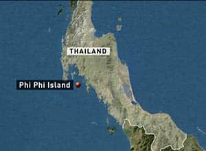 The sisters were staying on the Thai resort island of Phi Phi, about a 90-minute ferry ride from Phuket.