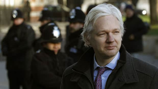 WikiLeaks chief Julian Assange has asked Ecuador for political asylum, says the South American nation's foreign minister.