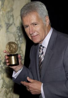 The Sudbury, Ont.,-born Alex Trebek has hosted Jeopardy! for 28 years.