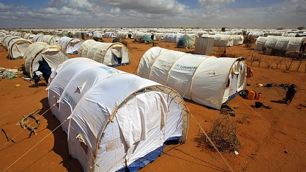 Four international aid workers have been abducted from Kenya's Dadaab refugee camp, which is about 100 kilometres from the Somali border.