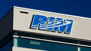 RIM shares have been buoyed by a rumour IBM is interested in acquiring one of the company's units.