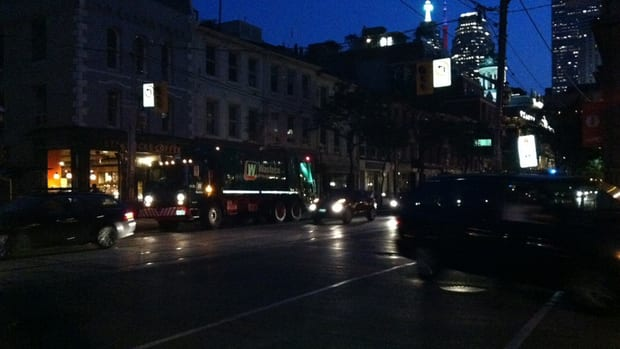 Power is out for about 6,500 Toronto customers on Thursday evening.
