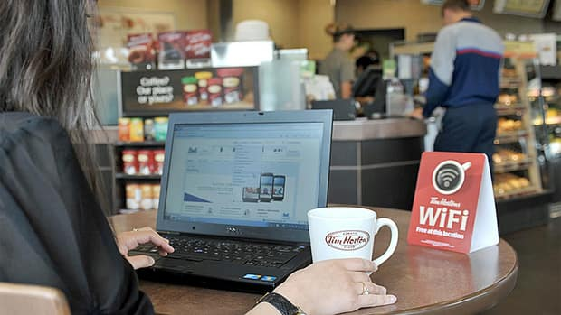 Tim Hortons began rolling out high-speed Wi-Fi in its restaurants in 2012. The publisher of DailyXtra.com (