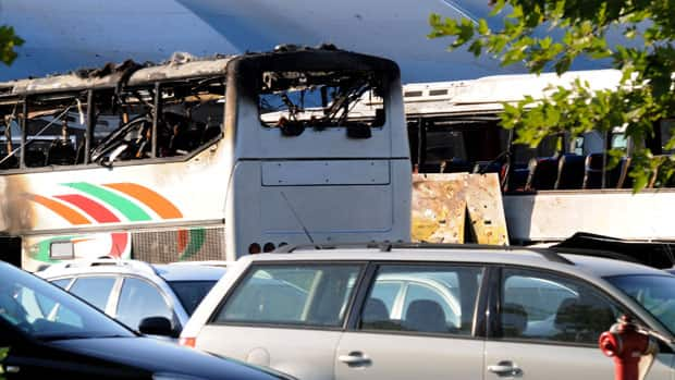 Bulgaria says two suspects, using Canadian and Australian passports, played a role in the bombing of a bus carrying Israeli tourists in July 2012 at an airport. Five Israelis and a Bulgarian bus driver died in the attack.