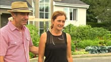 Michel Beauchamp and Josée Landry planted a vegetable garden this spring.