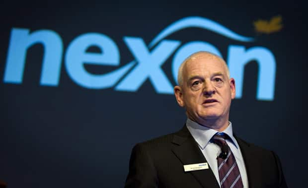 Nexen Inc. chief executive Kevin Reinhart addresses the company's annual meeting in Calgary last April. The oil and gas producer has agreed to be acquired by China National Offshore Oil Company for $15.1 billion US.