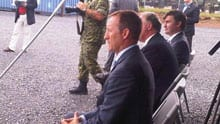 Peter MacKay announced an expanded Canadian Forces weather station in CFB Gagetown.