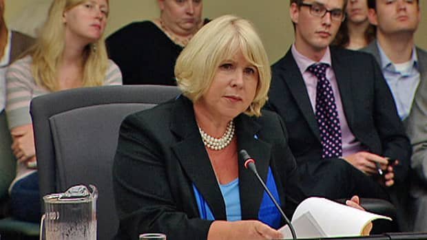 Health Minister Deb Matthews gave further testimony about the Ornge air ambulance service to a legislative committee on Tuesday.