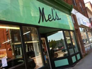 Mel's Tea Room has operated in this location since 1945.