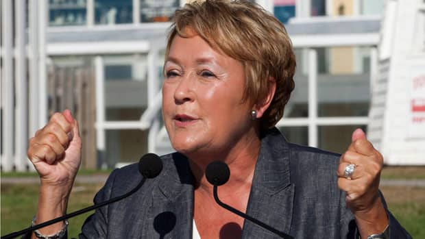 Quebec premier-designate Pauline Marois promised to bring in tougher laws protecting the French language in the first week of the recent election campaign.