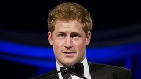 Prince Harry photographed naked in Las Vegas