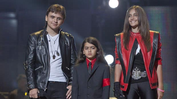 Michael Jackson's nephew will share co-guardianship of the late popstar's children, from left, Prince, Blanket and Paris, shown here in October 2011.
