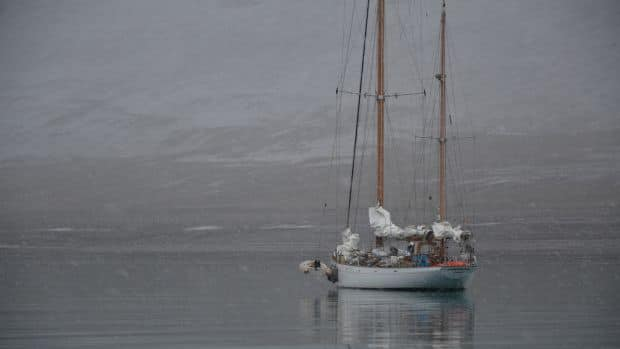 Three sailors attempting an unusual route through the Northwest Passage are reaching a critical stage. (photos courtesy belzebub2.com)<br /> <em></em>
