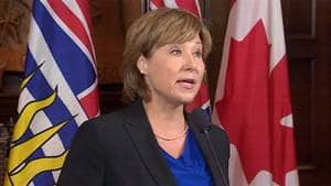 British Columbia Premier Christy Clark unveiled her new cabinet on Wednesday morning.