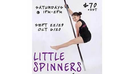 Dance studio offers children pole dancing classes
