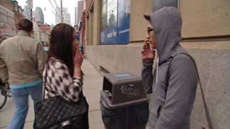 Smoking cigarettes is tied to a teen's popularity in school, despite decades ...