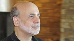 Federal Reserve Chairman Ben Bernanke, shown arriving at the Jackson Hole Economic Symposium on Sept. 1., where he said previous stimulus had prompted the creation of two million jobs.