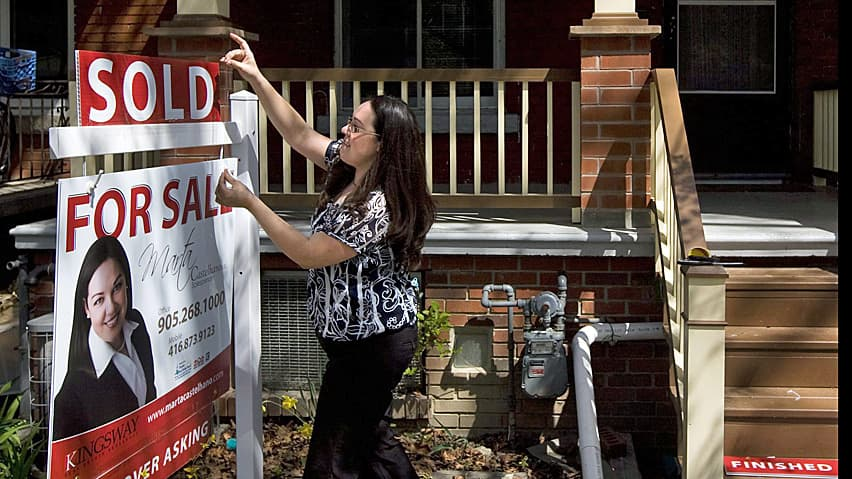 CIBC's economist Benjamin Tal expects a slow, gradual pullback in housing prices.