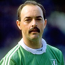 Bruce Grobbelaar, pictured in an undated photo from the Liverpool FC website, played for the club from 1981 through 1994.