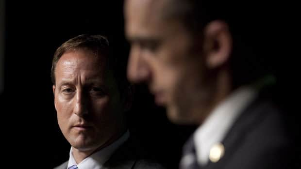 Defence Minister Peter MacKay and Veterans Affairs Minister Steven Blaney announced in June the government would not appeal a Federal Court ruling that rejected clawbacks from the pensions of disabled veterans.