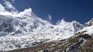 Mount Manaslu in northern Nepal is the eighth highest mountain in the world