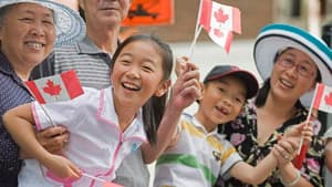 The happiness rating between young and old in Canada has widened considerably over the past several years, the study found.