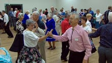 Dozens of people were square dancing to new songs Thursday night at the Winston Heights Mountview Community Hall.