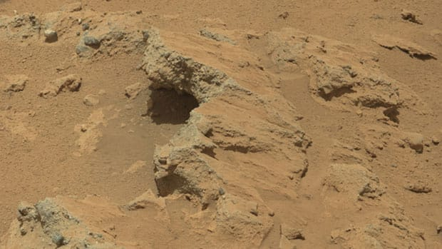 NASA's Curiosity rover has found evidence of an ancient stream on Mars at a few sites, including a rock outcrop that has been named Hottah after Hottah Lake in the N.W.T.