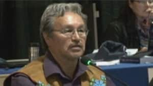 Eddie Erasmus, the Grand Chief of the Tlicho government, said they waited to sign the agreement-in-principle until they were sure it would not affect their land claim.