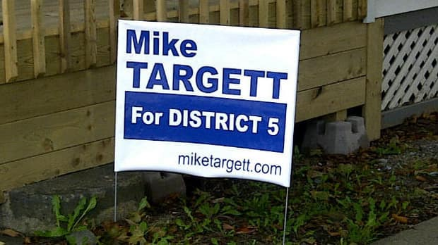 The comment made by an impostor said Mike Targett supports Cecil Clarke's for mayor. Targett said he's not endorsing anyone.