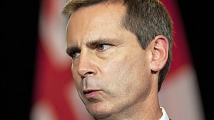 Dalton McGuinty announced his resignation on Monday as Ontario premier, saying 'it's time for renewal.'