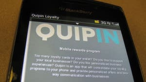 The Quipin app is free for customers, but businesses have to pay to be involved.