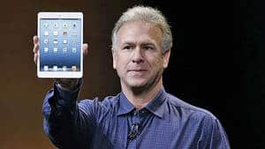 Phil Schiller, Apple's senior vice president of worldwide product marketing, introduces the iPad Mini in San Jose, Calif.