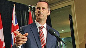 Ontario Premier Dalton McGuinty spoke to reporters Wednesday, nine days after he announced he was stepping down and proroguing the legislature.