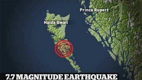 'Like a massive wind': B.C. earthquake stories