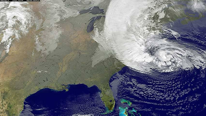 hurricane sandy from space station - photo #24