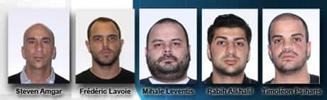 Authorities are looking for five people considered to be some of the network's ringleaders or orchestrators.