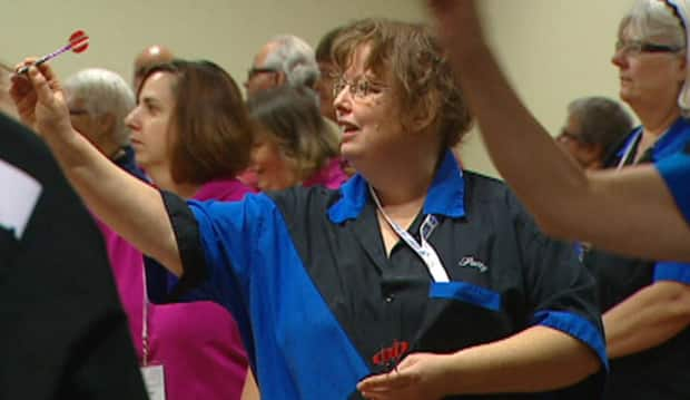 Canadian Deaf Darts Championship is one of the top sporting titles for the nation's deaf community. CBC