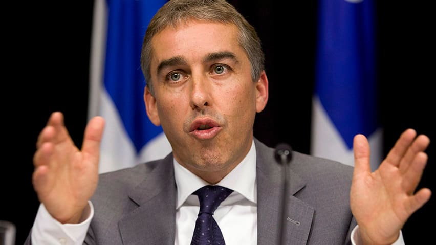 Finance Minister Nicolas Marceau said Quebec's 25 per cent retroactive tax on alcohol is nothing new.