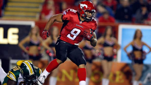 Jon Cornish was named the CFL's Most Outstanding Canadian on Thursday night in Toronto.