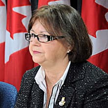 Liberal MP Judy Foote is accusing the Conservative government of a cover-up on the marine medical calls issue.