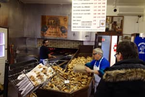 The bagels in Montreal, like these at St-Viateur bakery, are good. But Hamilton makes one kind that's better.