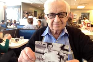 Hymie Sckolnick opened Beauty's Luncheonette 70 years ago.