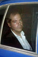 John Hinckley Jr., shown arriving at a Washington court in 2003, tried to assassinate President Ronald Reagan in 1981 to impress actor Jodie Foster.
