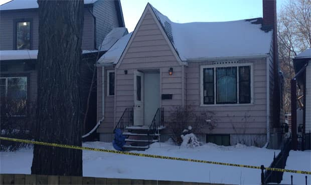 Regina police are investigating at a home on Cameron Street after a person was found dead inside.