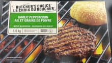 Butcher's Choice Garlic Peppercorn Beef Burgers were among the products included in the recall.