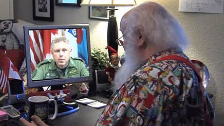 Santa Claus is coming to town and NORAD's got him on radar