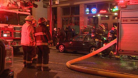 Vancouver fire leaves 18 homeless Christmas Eve morning